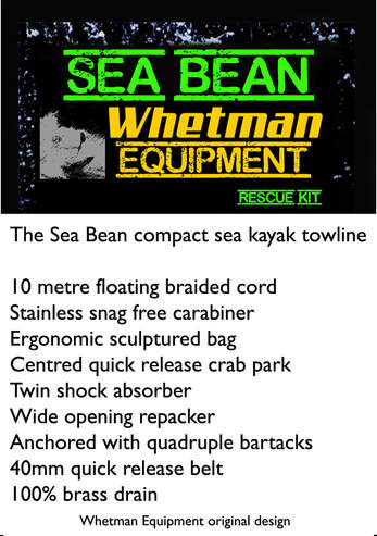 Whetman Whetman sea bean elite sea kayak towline