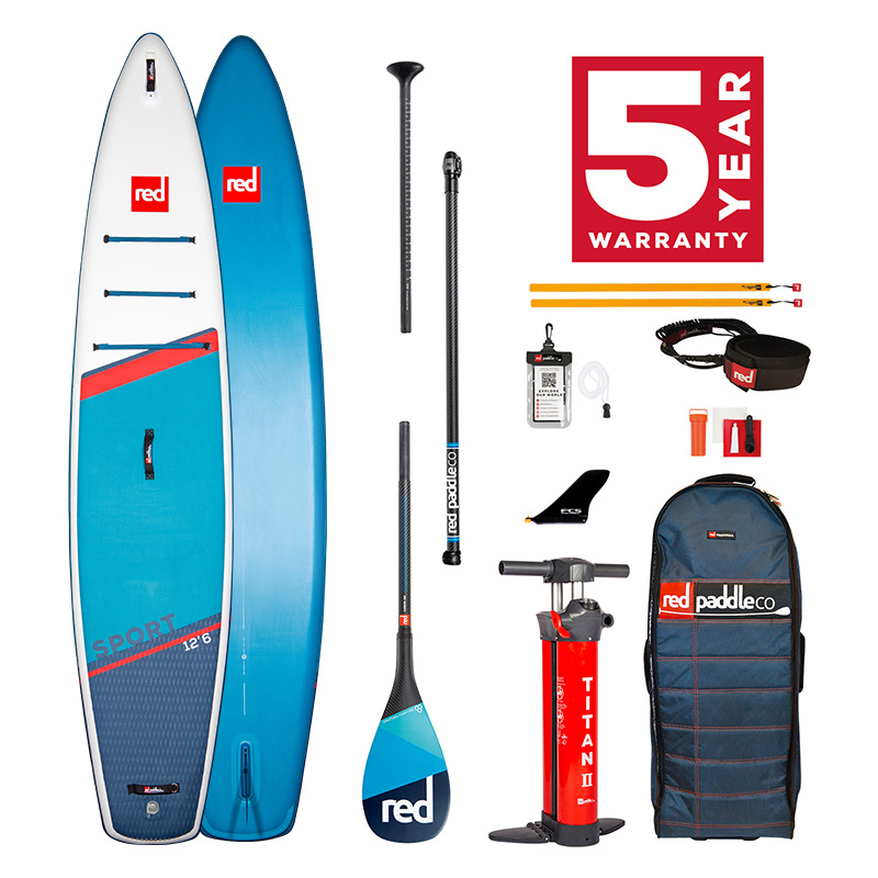 Red Paddle Co 2021 Red Paddle co - SPORT Carbon 100 Package
