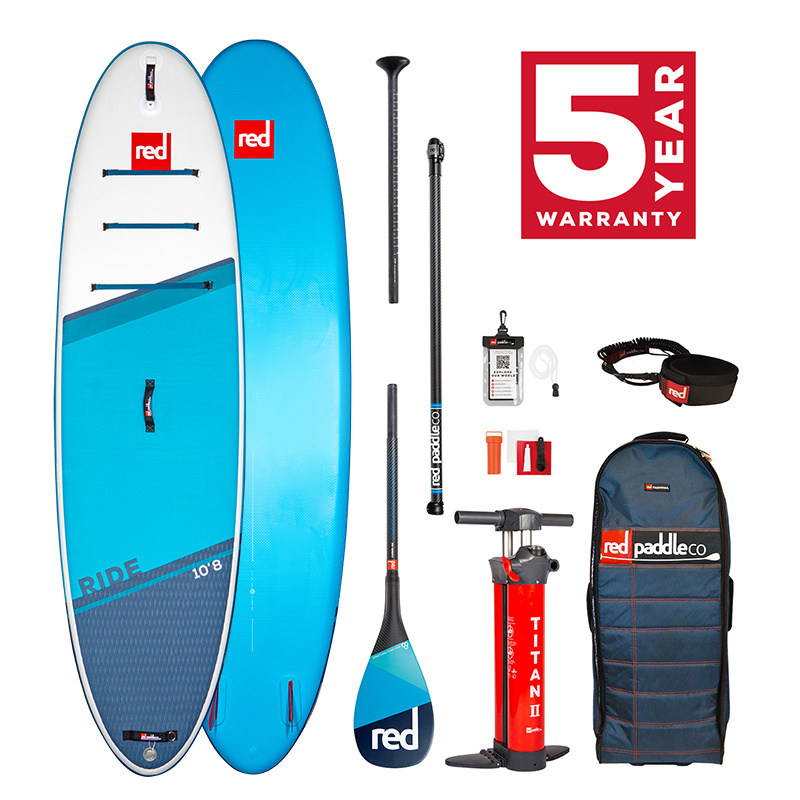 Red Paddle Co 2021 Red Paddle Co Ride Carbon 100 Package