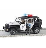Bruder Bruder 2526 - Politie Jeep met politieagent ( blanke huidskleur )