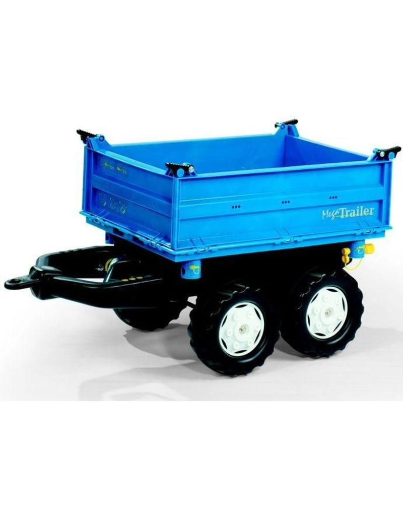 Rolly Toys Rolly Toys 121106 - Mega Trailer blauw