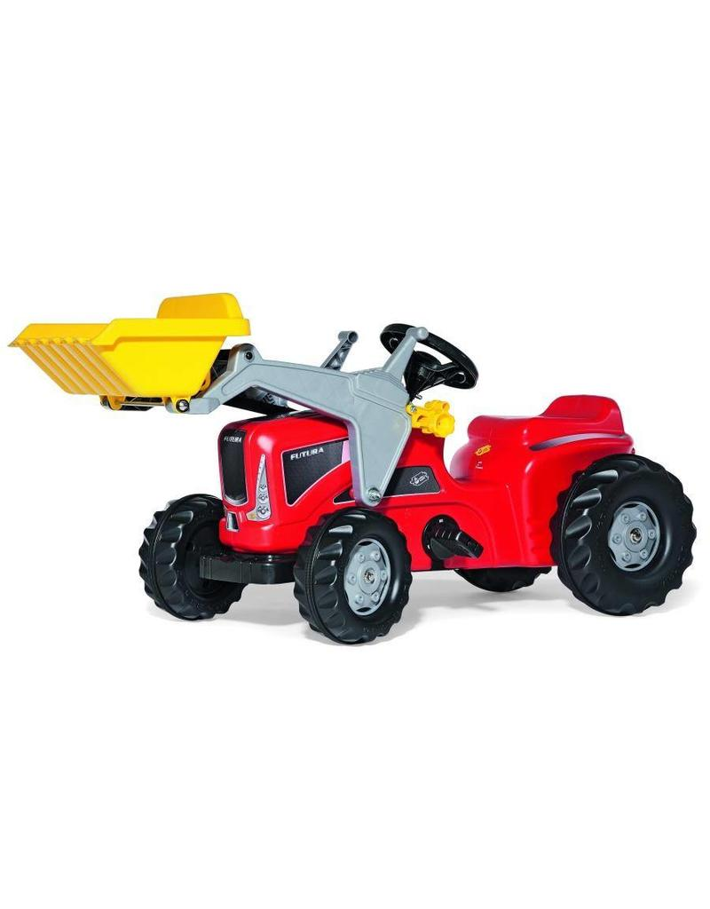 Rolly Toys Rolly Toys 630059 - RollyKiddy Futura met voorlader - rood