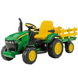 Peg Perego Peg Perego OR0047 - John Deere 12V Ground Force met aanhanger