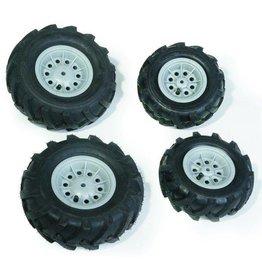 Rolly Toys Rolly Toys Luchtbanden Zilver voor Tractoren RT6.. & RT8.. (4 stuks)