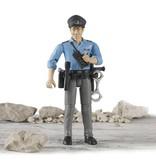 Bruder Bruder 60050 - Speelfiguur politieman, blank met toebehoren