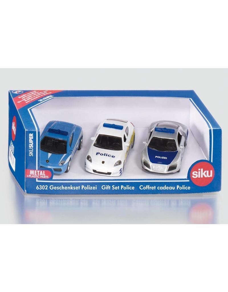Siku Siku 6302 - Geschenkset politie 1:87