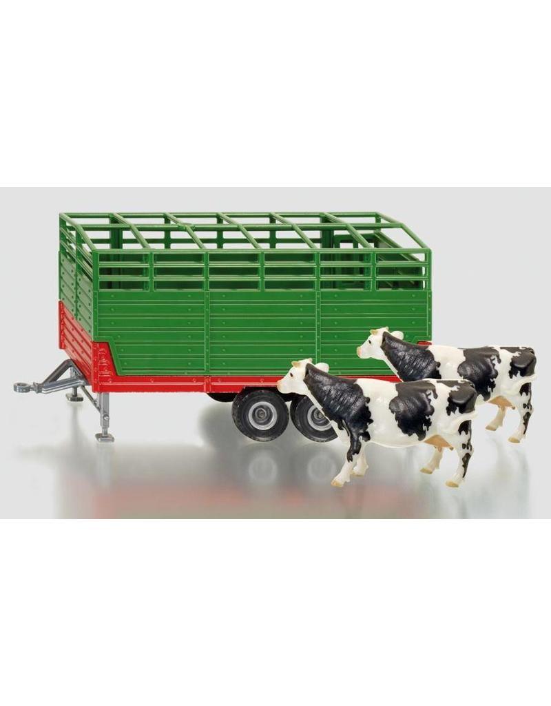 Siku Siku 2875 - Veeaanhanger met 2 koeien 1:32