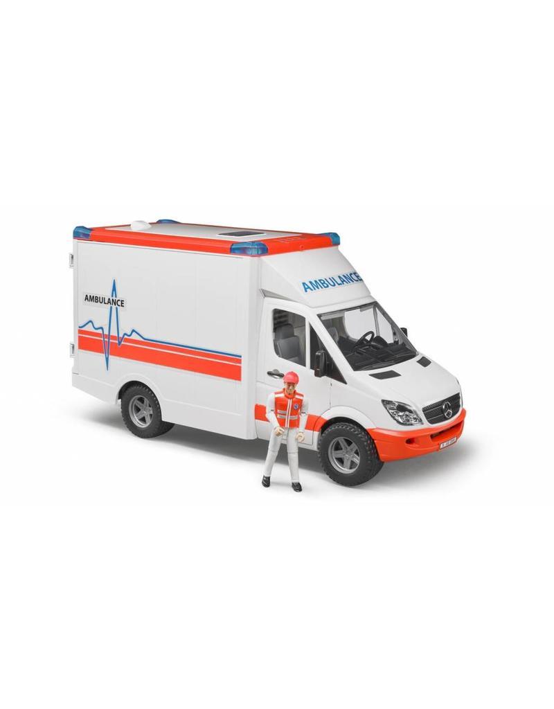 Bruder Bruder 2536 - MB Sprinter ambulance met chauffeur