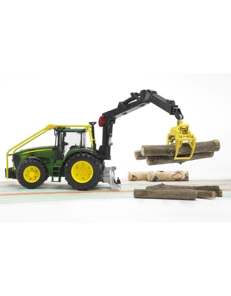 Bruder Bruder 3053 - John Deere 7930 bosbouwtractor met bomengrijper