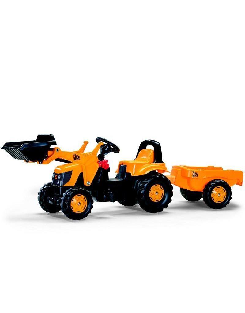 Rolly Toys Rolly Toys 023837 - RollyKid JCB met frontlader en aanhanger