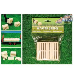 Kids Globe Kids Globe 610023 - Houten pallets (6 stuks) 1:16