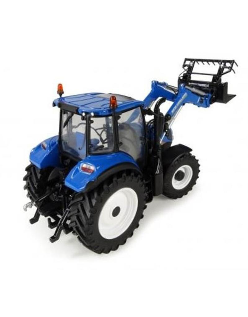 Universal Hobbies Universal Hobbies 4958 - New Holland T5.120 Traktor met Frontlader 1:32