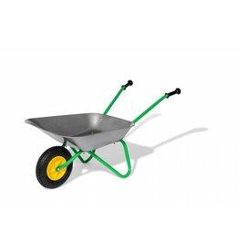 Rolly Toys Rolly Toys 271757 - Kruiwagen metaal met groen onderstel en rubberwiel