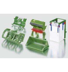 Siku Siku 3658 - Frontlader / Voorlader accessoires 5 stuks 1:32