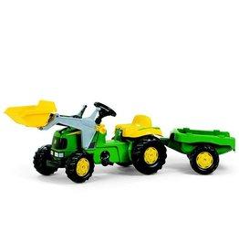 Rolly Toys Rolly Toys 023110 - RollyKid John Deere met frontlader en aanhanger