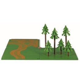 Siku Siku 5699 - SIKUWorld - Toebehoren veldwegen en bos 1:50