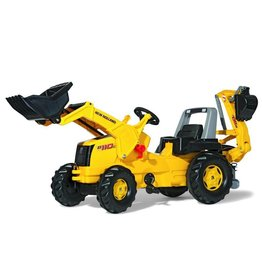 Rolly Toys Rolly Toys 813117 - Rolly Junior New Holland Construction met Frontlader en graafmachine