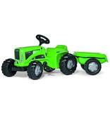 Rolly Toys Rolly Toys 620005 - RollyKiddy Futura met aanhanger - groen