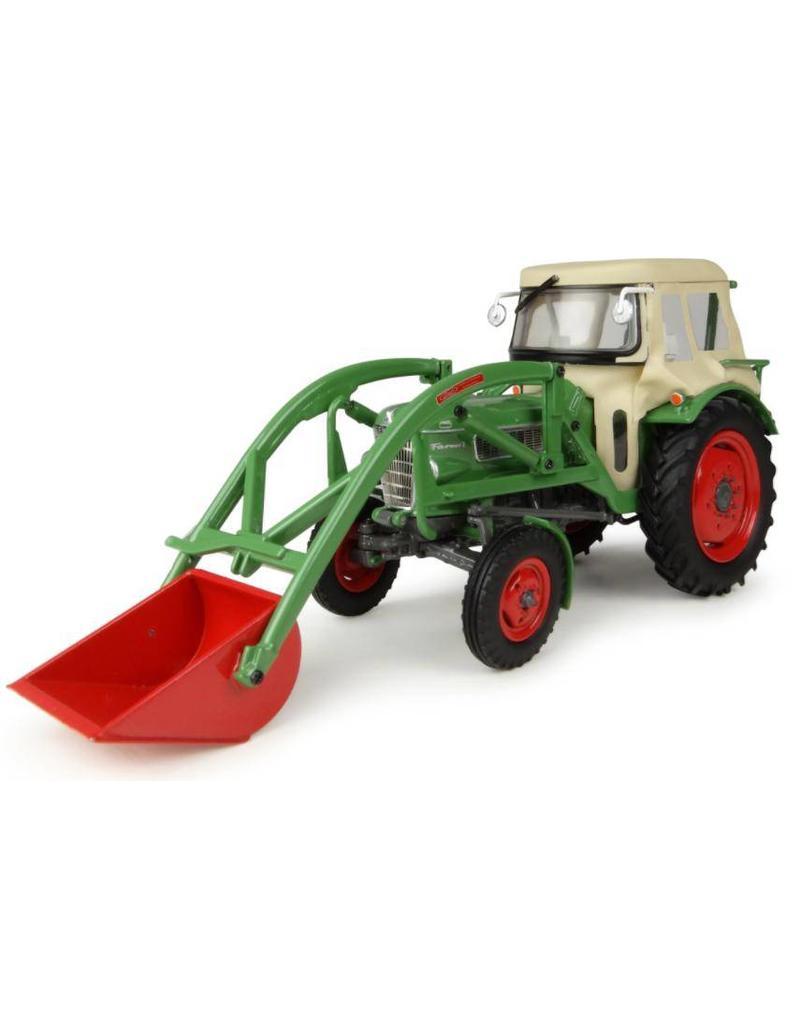 Universal Hobbies Universal Hobbies 4946 - Fendt Farmer 2 + Fritmeier Cabine + Voorlader 1:32