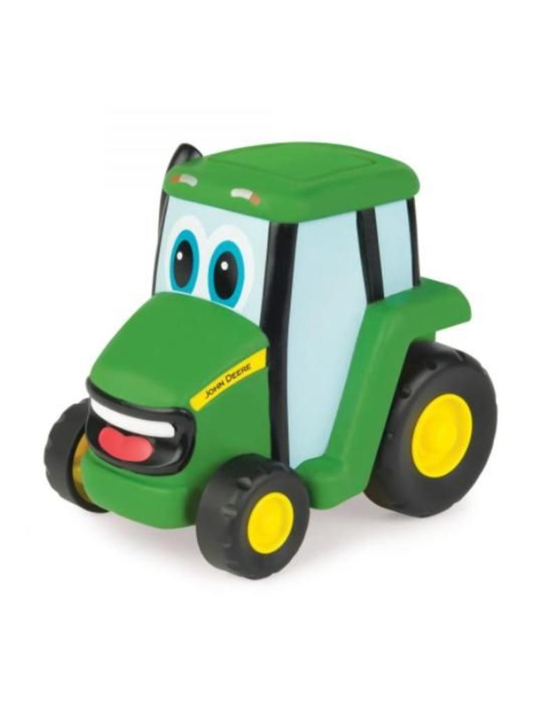 "Britains Britains Johnny Tractor met push motor systeem ""refresh"" versie"