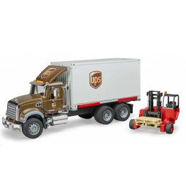 Bruder Bruder 2828 - Mack Granite UPS met heftruck