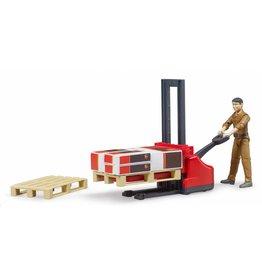 Bruder Bruder 62210 - Figurenset UPS logistics