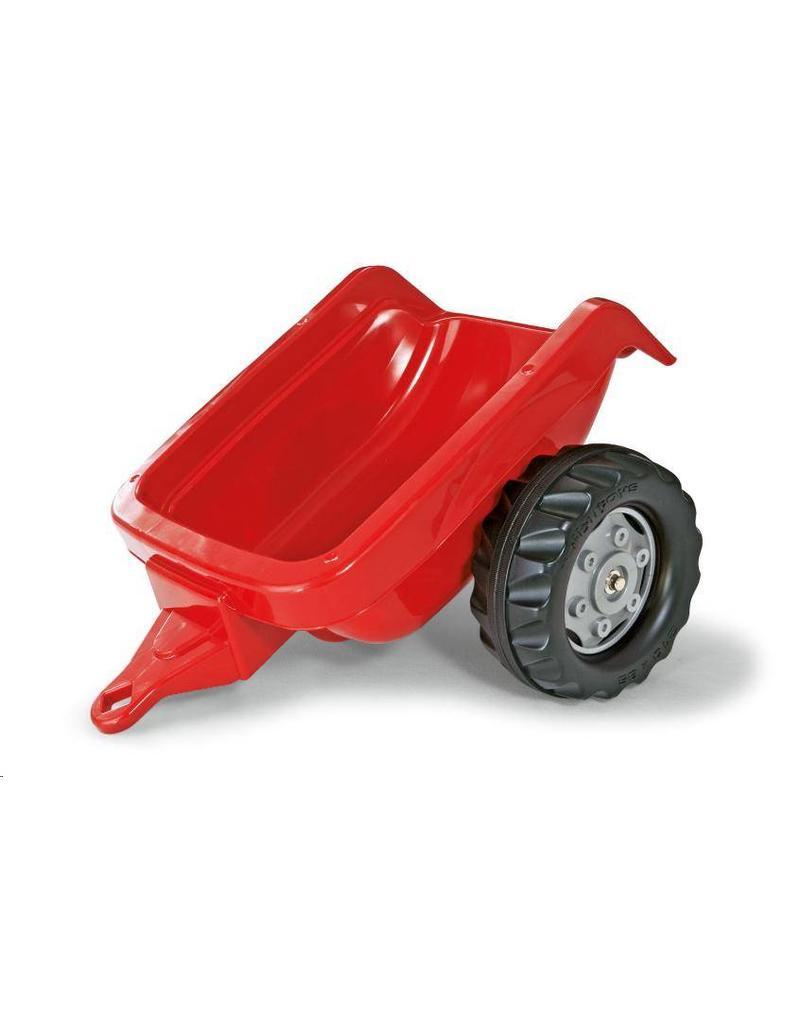 Rolly Toys Rolly Toys 121717 - RollyKid aanhanger rood met grijze velgen