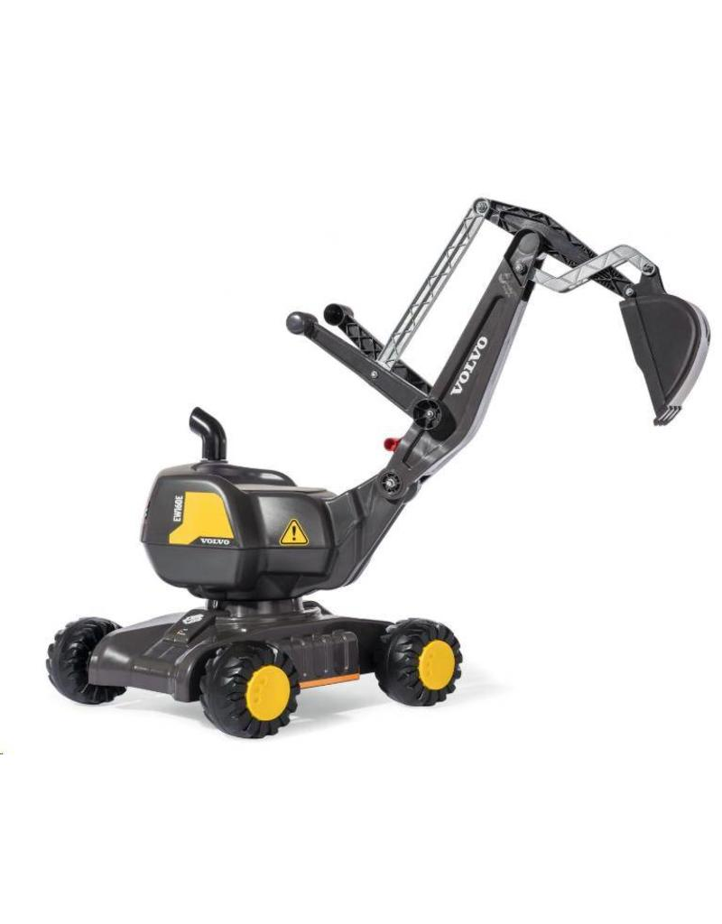 Rolly Toys Rolly Toys 421152 - Rolly Digger Volvo zwart op 4 wielen