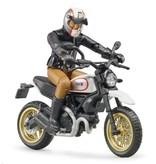 Bruder Bruder 63051 - Ducati Scrambler Sled en berijder