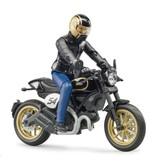 Bruder Bruder 63050 - Ducati Scrambler Cafe Racer en berijder