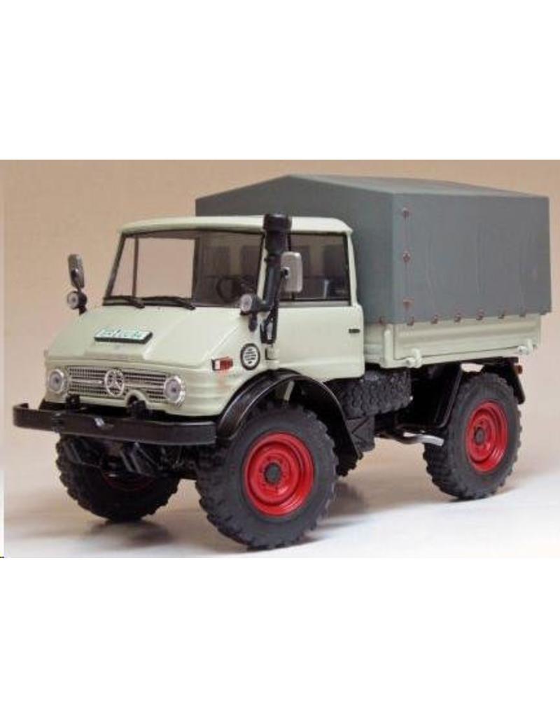 Weise Toys Weise Toys 1044 - Unimog 406 (U84) met huif (1971-1989) 1:32