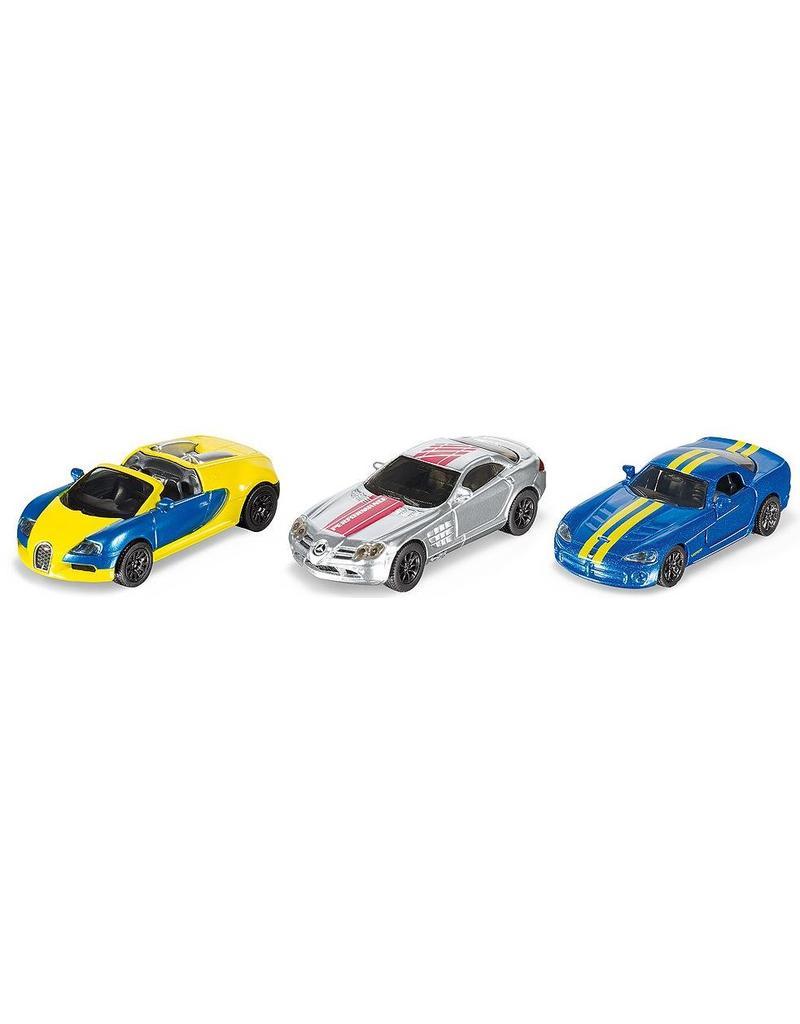 Siku Siku 6323 - Geschenkset sportwagens 1:87