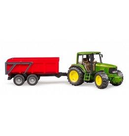 Bruder Bruder 2057 - John Deere 6920 met tipping trailer