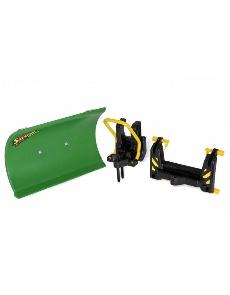 Rolly Toys Rolly Toys 408993 - Sneeuwschuif groen met 2 adapters (voor Rolly Traclader en frontaanbouw)