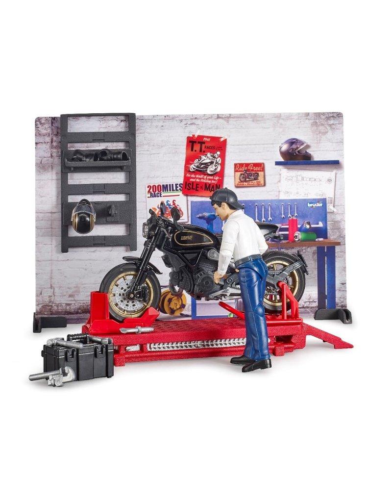 Bruder Bruder 62101 - Werkplaats voor motoren