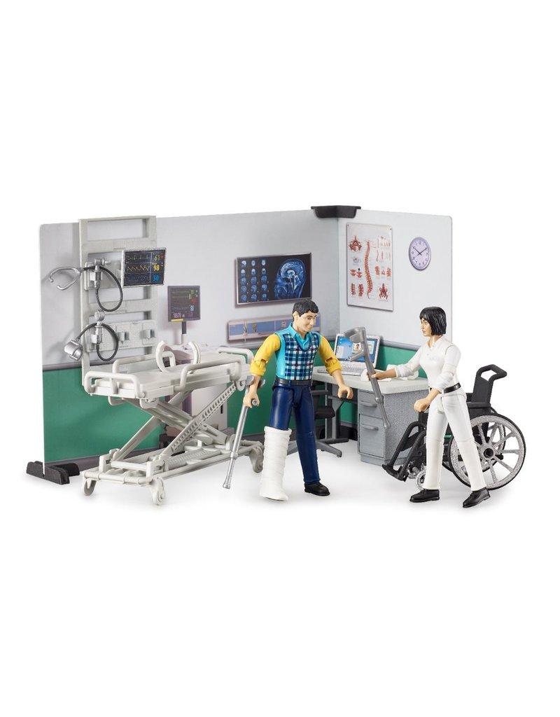 Bruder Bruder 62711 - Mobiel ziekenhuis