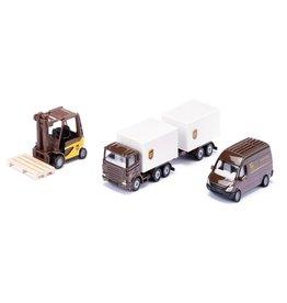 Siku Siku 6324 - Geschenkset UPS logistiek 1:87
