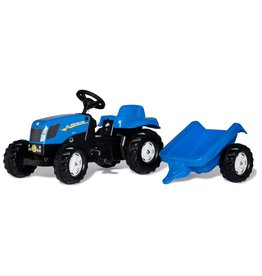 Rolly Toys Rolly Toys 013074 - RollyKid New Holland TVT 190 met aanhanger