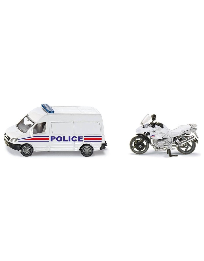 Siku Siku 1655 - Politie set (auto met motor) 1:87