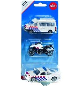 """Siku Siku 1824 - Politie voertuigen set """"Nederland"""""""