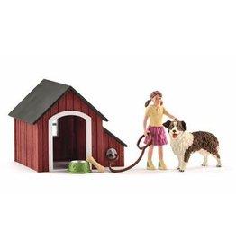 Schleich Schleich Dog 42376 - Hondenhok