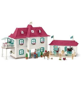 Schleich Schleich Horses 42416 - Groot huis met Paardenbox (GRATIS VERZENDING)