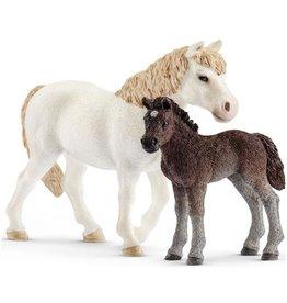Schleich Schleich Horses 42423 - Pony en veulen
