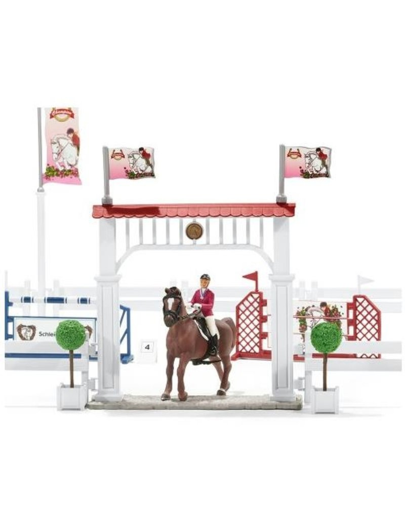 Schleich Schleich Horses 42338 - Groot Wedstrijdtoernooi met paarden