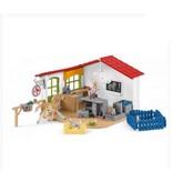 Schleich Schleich Farm 42502 - Dierenartspraktijk met huisdieren