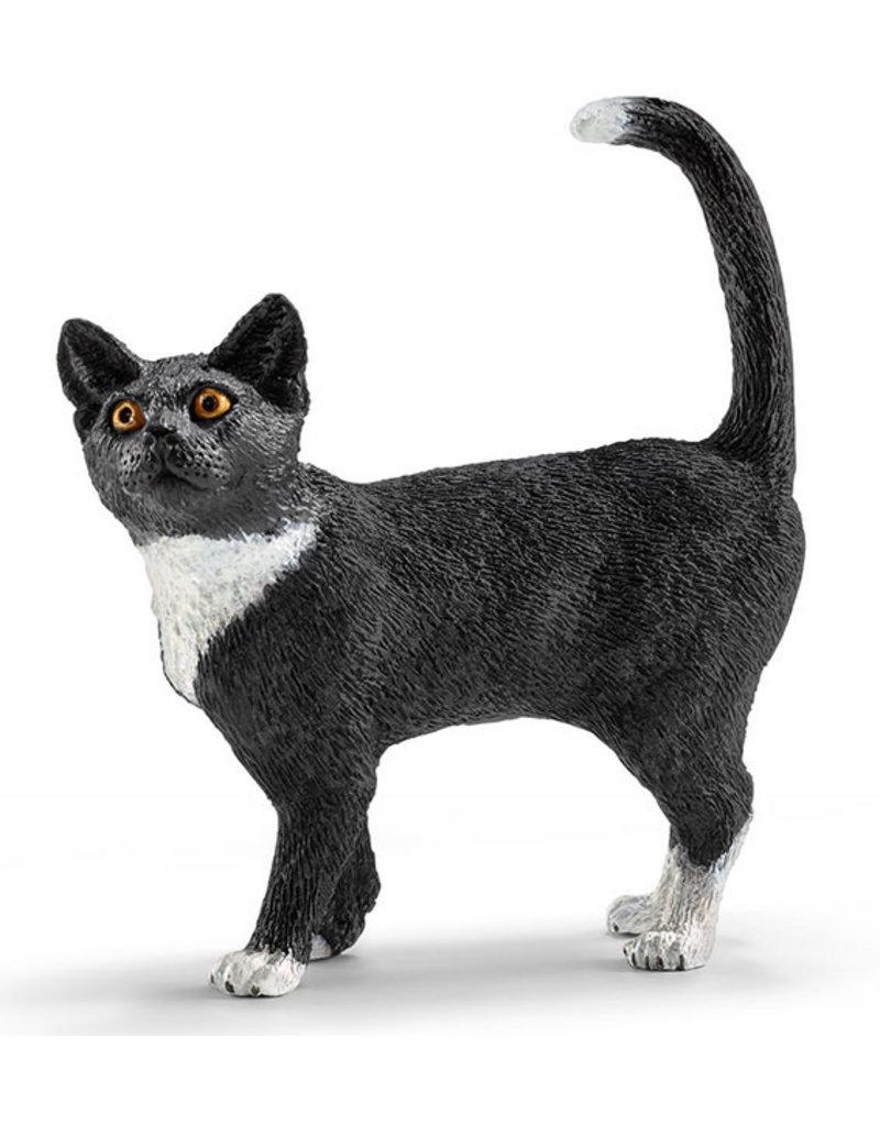 Schleich Schleich CAT 13770 - zwarte kat, staand