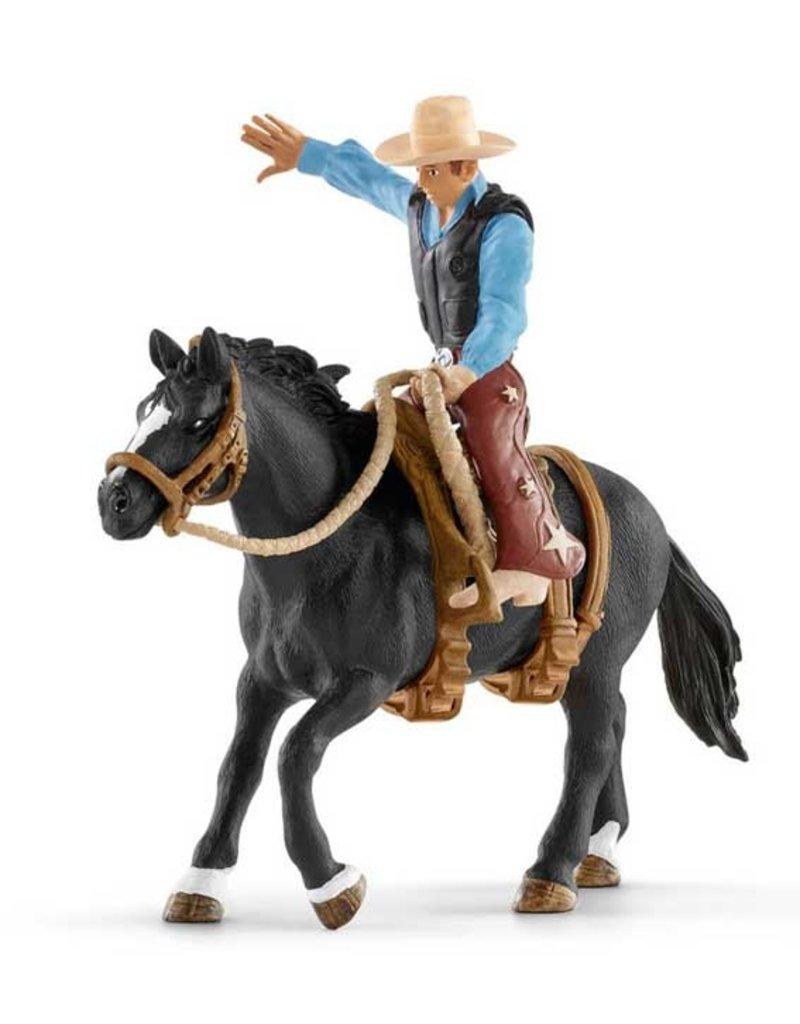 Schleich Schleich Horses 41416 - Western ruiter met paard