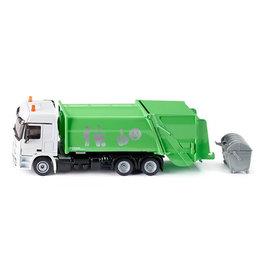 Siku Siku 2938 - Vuilniswagen Mercedes met container 1:50