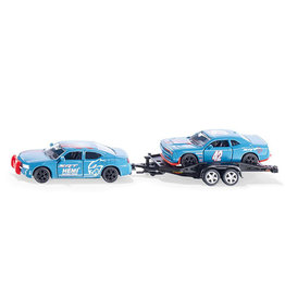 Siku Siku 2565 - Dodge Charger met Dodge Challenger SRT Racing