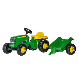 Rolly Toys Rolly Toys 012190 - RollyKid John Deere met aanhanger